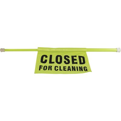 Impact 9175I Closed-for-Cleaning Sign on Pole - 6 / Case