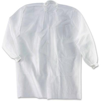 Impact M1735KCL Disposable Lab Coats, Large - 30 / Case