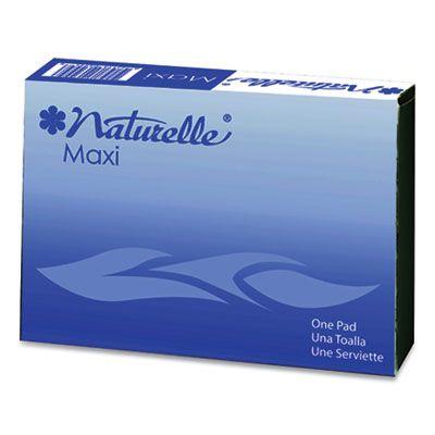 Impact 25130973 Naturelle Maxi Pad in Vending Machine / Dispenser Box - 250 / Case