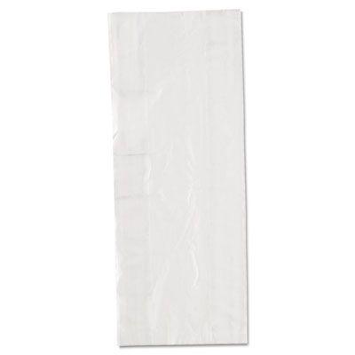 """Inteplast PB060315 Food Grade Plastic Bags, 0.68 Mil, 3.5 Quart, 6"""" x 15"""" x 3"""", Clear - 1000 / Case"""