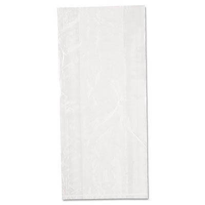 """Inteplast PB080418 Food Grade Plastic Bags, 0.85 Mil, 8 Quarts, 8"""" x 4"""" x 18"""", Clear - 1000 / Case"""