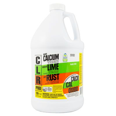 Jelmar CL4PRO CLR Pro Calcium, Lime, Rust Remover, 1 Gallon Bottle - 1 / Case