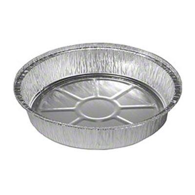 """JIF-FOIL 8075 7"""" Round Aluminum Foil Pans, 24 oz - 500 / Case"""
