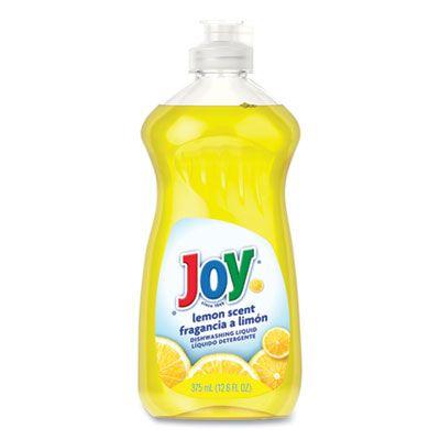 Joy 81209 Dishwashing Liquid, Lemon Scent, 12.6 oz Bottle - 12 / Case