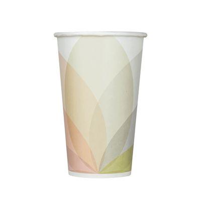 Karat C-KCP16 16 oz Paper Cold Cups, Kold Design - 1000 / Case
