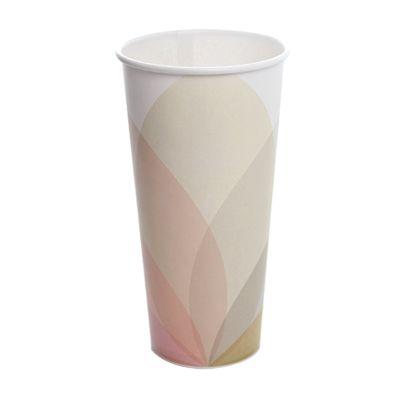 Karat C-KCP32 32 oz Paper Cold Cups, Kold Design - 600 / Case