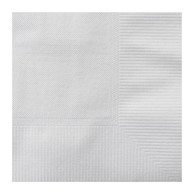 Karat KN-B1010-2W Paper Beverage Napkins, 2 Ply, 1/4 Fold, White - 3000 / Case