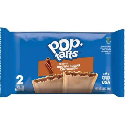 Keebler 31132 Pop Tarts, Brown Sugar and Cinnamon - 48 / Case