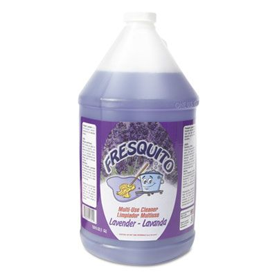 Kess FRESQUITOL Fresquito All-Purpose Cleaner, Lavender Scent, 1 Gallon Bottle - 4 / Case