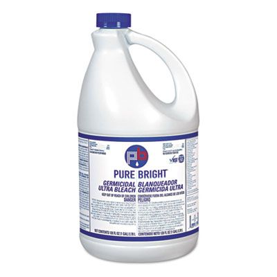 KIK BLEACH6 Pure Bright Liquid Germicidal Ultra Bleach, 1 Gallon Bottle - 6 / Case