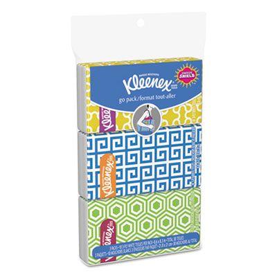 Kimberly-Clark 11976 Kleenex On the Go Packs Facial Tissues - 36 / Case