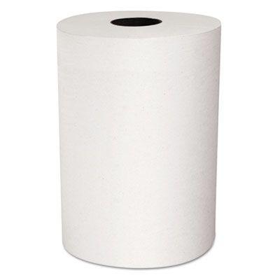 "Kimberly-Clark 12388 Scott Control Slimroll Hardwound Roll Paper Towels, 8"" x 580', White - 6 / Case"