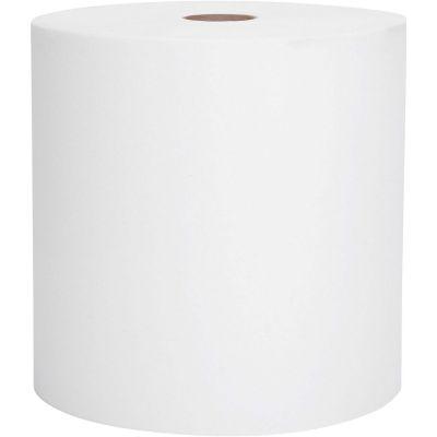 "Kimberly-Clark 02000 Scott Essential High Capacity Hardwound Roll Paper Hand Towels, 8"" x 950', 1.75"" Core, White - 6 / Case"