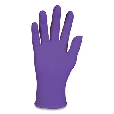 Kimberly-Clark 55081 Nitrile Exam Gloves, Small, Purple - 1000 / Case