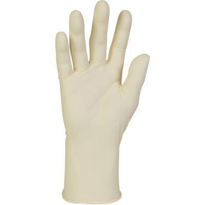 Kimberly-Clark 57330 Latex Exam Gloves, Powder Free, Medium, Natural - 100 / Case