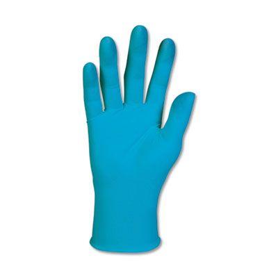 Kimberly-Clark 57374 KleenGuard G10 Nitrile Gloves, Powder Free, 6 Mil, Extra Large,  Blue - 90 / Case