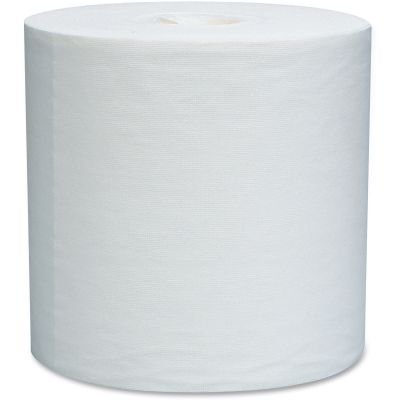 """Kimberly-Clark 5820 WypAll L30 Center Pull Roll Wipers, 300 / Roll, 9.8"""" x 15.2"""", White - 2 / Case"""