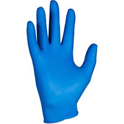 Kimberly-Clark 90096 KleenGuard G10 Nitrile Gloves, Small, 2.0 mil, Arctic Blue - 200 / Case
