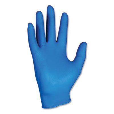 Kimberly-Clark 90099 KleenGuard G10 Nitrile Gloves, Powder Free, X-Large, Artic Blue - 180 / Case