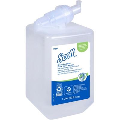 Kimberly-Clark 91565 Scott Foam Hand Soap, 1 Liter Refill - 6 / Case