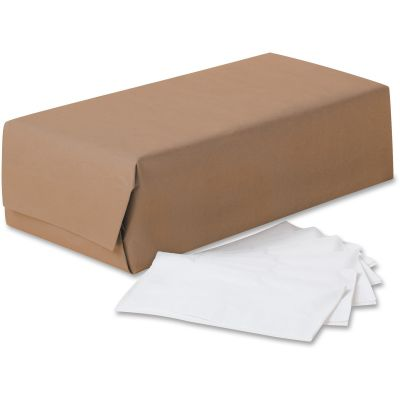 "Kimberly-Clark 98200 Scott Paper Dinner Napkins, 2 Ply, 1/8 Fold,16.5"" x 15.6"" x 22.9"", White - 3000 / Case"