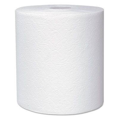 "Kimberly-Clark 50606 Kleenex Hard Roll Paper Towels, 8"" x 600', White - 6 / Case"