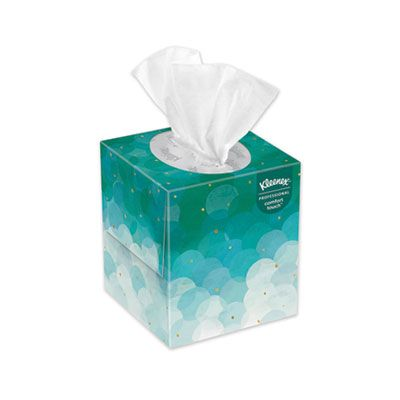 Kimberly-Clark 21271 Kleenex Boutique Facial Tissue, 2 Ply, 95 Tissues / Cube Box - 36 / Case