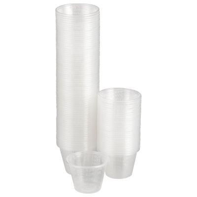 McKesson 16-9505 1 oz Medicine Cups, Graduated, Polypropylene, Disposable, Clear - 5000 / Case