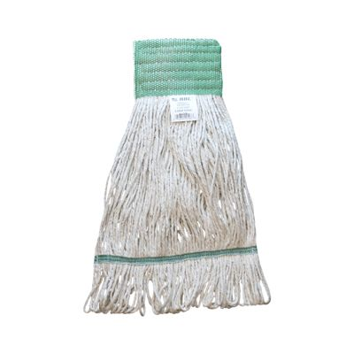 Zephyr 09405 BBL Large Cotton Loop Mop Head, Wide Band - 12 / Case