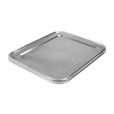 """HFA 2049-30-100FC Foil Lid for Handi-foil Half Size Steam Table Pans, 12-13/16"""" x 10-7/16"""" x 5/8"""" - 100 / Case"""