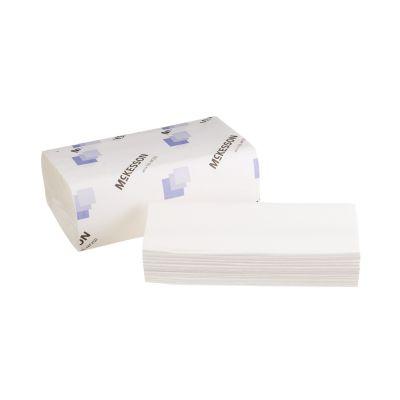 "McKesson 165-MF250 Multi-Fold Paper Towels, Embossed, 9"" x 9-9/20"", White - 4000 / Case"