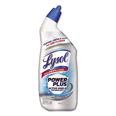 Reckitt Benckiser 96307 Lysol Power Plus Toilet Bowl Cleaner, 24 oz Bottle - 9 / Case
