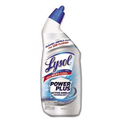Reckitt Benckiser 96307 Lysol Power Plus Toilet Bowl Cleaner, 24 oz Bottle - 9 / Case
