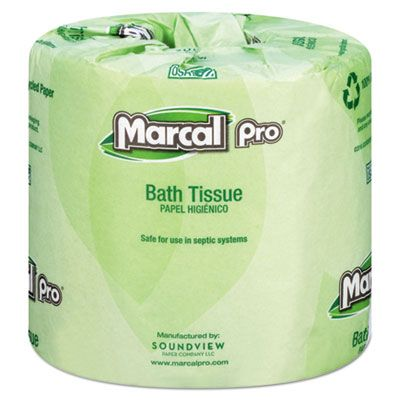 Marcal Paper 3001 Toilet Paper, 2 Ply, 240 Sheets / Roll, White - 48 / Case
