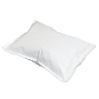 """McKesson 18-917 Disposable Pillowcase, Standard, 21"""" x 30"""", Tissue / Poly, White - 100 / Case"""