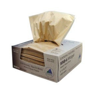 "McNairn Packaging 103900 Looking Natural MNB-6 Bakery Pick-Up Tissue, 6"" x 10-3/4"" - 10000 / Case"