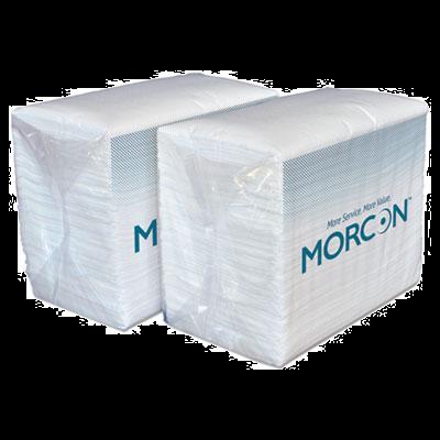"""Morcon 3466 Morsoft Paper Dinner Napkins, 2 Ply, 14.5"""" x 16.5"""", White - 3000 / Case"""