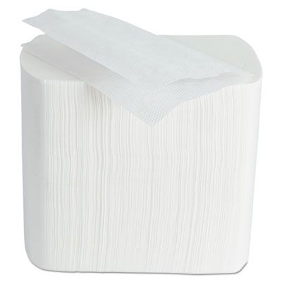 "Morcon 4500VN Paper Dispenser Napkin Refills, 2 Ply, 6.5"" 8.25"", White - 6000 / Case"
