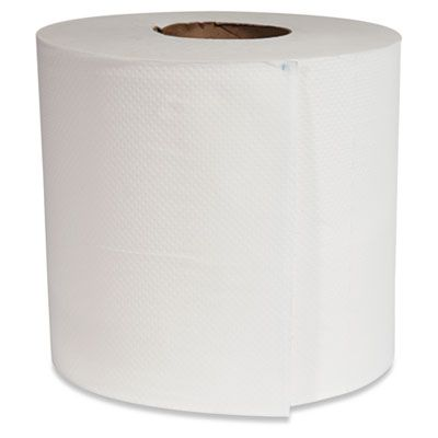 """Morcon C6600 Center Pull Roll Paper Hand Towels, 12"""" x 600', White - 6 / Case"""