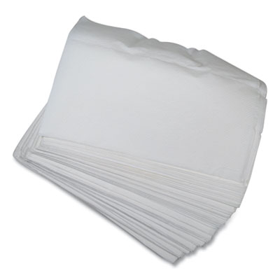 "Morcon D1213 Morsoft Paper Dispenser Napkins, 1 Ply, 6.5"" x 5"", White - 6000 / Case"