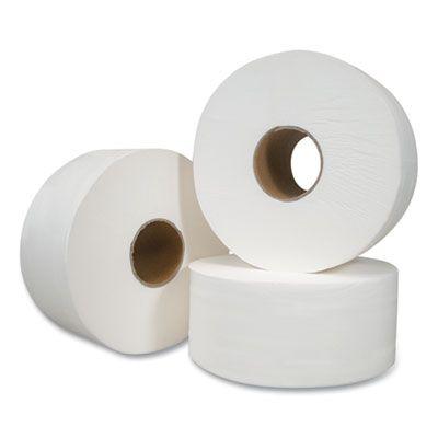 "Morcon VT110 Jumbo Roll Toilet Paper, 2 Ply, 7.5"" x 750', White - 12 / Case"