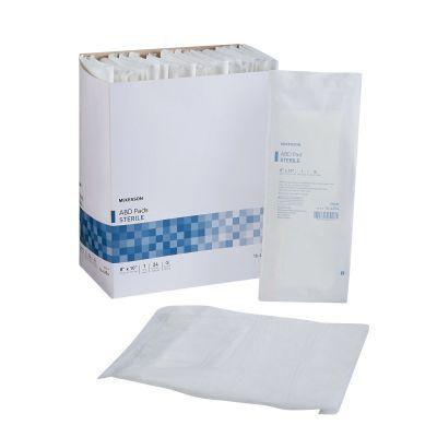 """McKesson 16-4254 Abdominal ABD Pads, Nonwoven Cellulose, 8"""" x 10"""" Rectangle, Sterile - 360 / Case"""