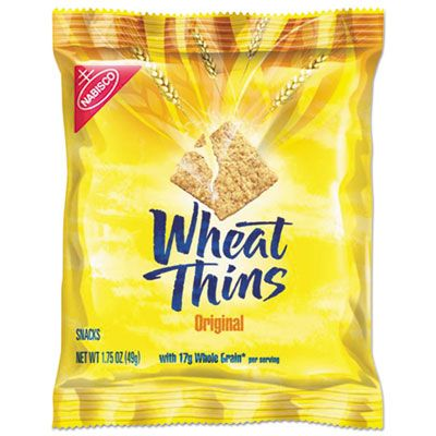 Nabisco Food 798 Wheat Thins Crackers, Original, 1.75 oz Bag - 72 / Case