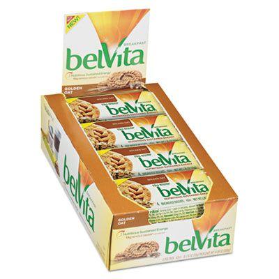 Nabisco Food 02946 Belvita Breakfast Biscuits, Golden Oat Flavor, 1.76 oz Pack - 64 / Case