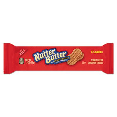 Nabisco Food 03745 Nutter Butter Cookies, 3 oz Bag - 48 / Case