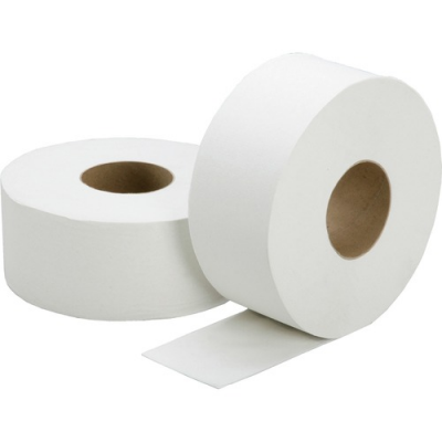 SKILCRAFT 5909073 Jumbo Roll Toilet Paper, 2 Ply, 1000', White - 12 / Case