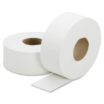 SKILCRAFT 5909072 Jumbo Roll Toilet Paper, 1 Ply, 2000', White - 12 / Case