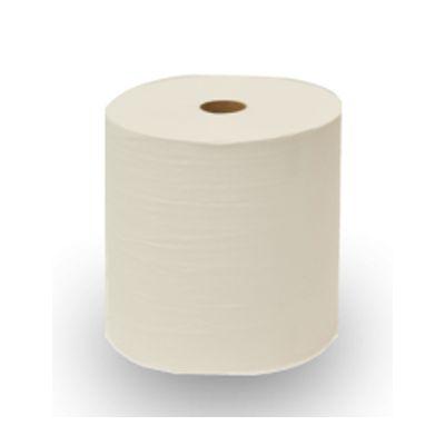 "Nittany Paper Mills NP-6580EX Thru Air Dry Paper Towel Rolls, 7.875"" x 580', White - 6 / Case"