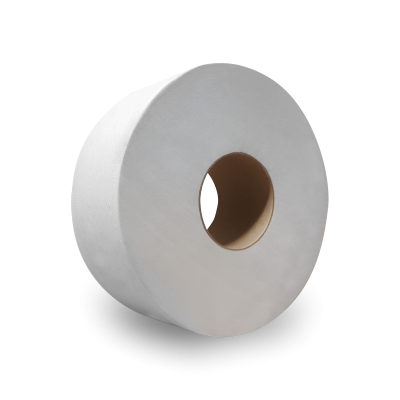 "Nittany Paper NP-5216 Jumbo Roll Toilet Paper, 2 Ply, 9"" x 1000' - 12 / Case"