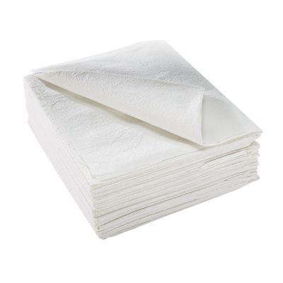 "McKesson 18-824 Physical Exam Drape Sheets, Deluxe Tissue, 40"" x 48"", NonSterile, White - 100 / Case"